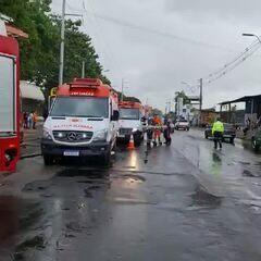 Acidente de trânsito em Manaus