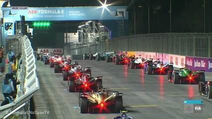 É dada a largada na primeira corrida da Fórmula E em 2021