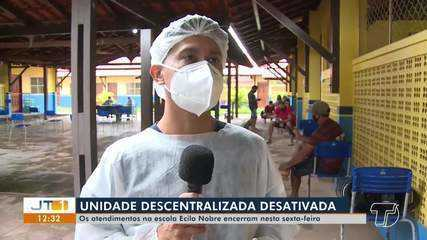 Unidade Descentralizada de Saúde é desativada na escola Ecila Nobre, no bairro Conquista
