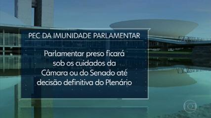 Sem acordo, PEC que dificulta prisão de parlamentares é enviada para comissões