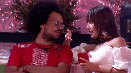João Luiz sobre vitória de Caio como Anjo: 'Feliz por ele, não com a decisão que vai tomar