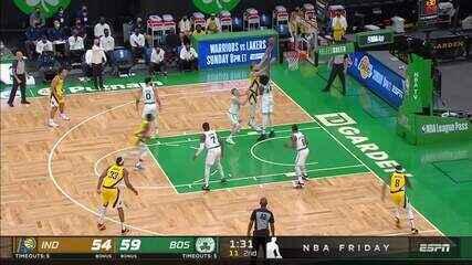 Melhores momentos: Boston Celtics 118 x 112 Indiana Pacers pela NBA