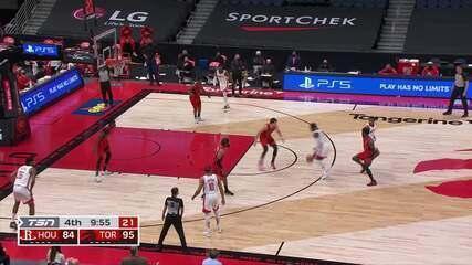 Melhores momentos: Toronto Raptors 122 x 111 Houston Rockets pela NBA