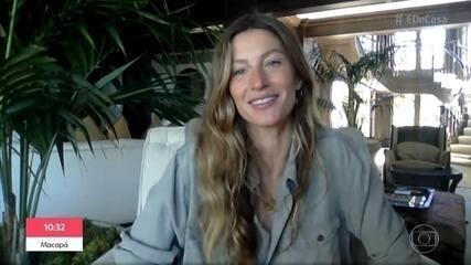 Gisele Bündchen fala sobre família e sua relação com a natureza