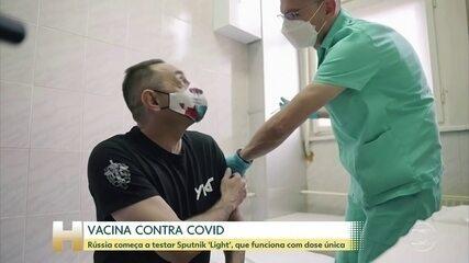 Rússia dá início a etapa final de testes com vacina Sputnik Light