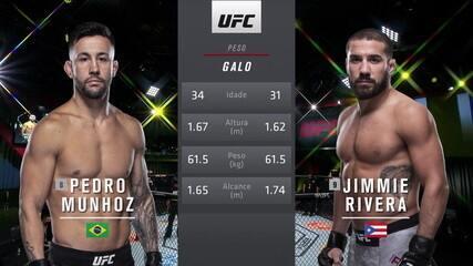 UFC Rozenstruik x Gané - Pedro Munhoz x Jimmie Rivera