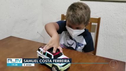 Menino de Maricá teve pneumonia 15 vezes, aos 6 anos, por causa de doença rara