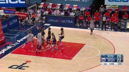 Melhores momentos: Washington Wizards 128 x 112 Minnesota Timberwolves pela NBA