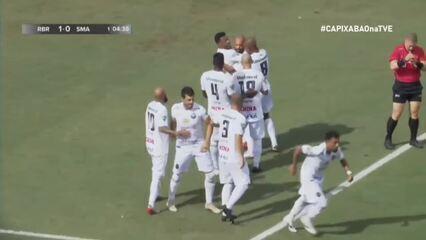 Os gols de Rio Branco-ES 3 x 0 São Mateus, pelo Campeonato Capixaba 2021