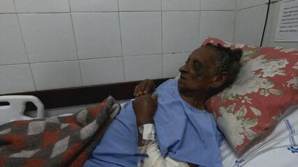 VÍDEO: veja resgate de idosa que caiu em buraco e ficou desaparecida por 8 noites em MG