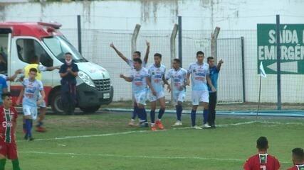 Os gols de Parnahyba 1 x 1 Fluminense-PI pela segunda rodada do Piauiense