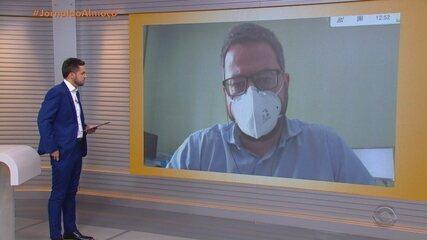 Diretor de Atenção a Rede Hospitalar fala sobre a alta na ocupação de leitos de UTI
