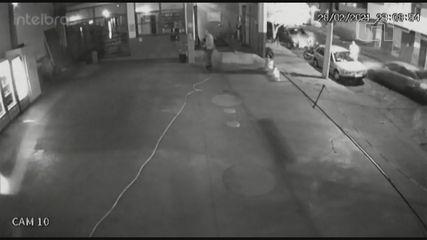 Frentista é atropelado em Igarapava, SP