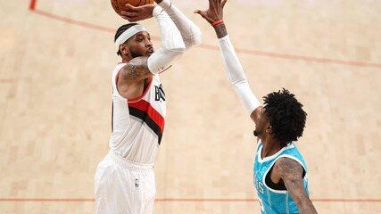 Melhores momentos: Portland Trail Blazers 123 x 111 Charlotte Hornets pela NBA