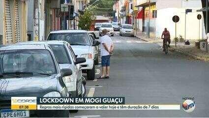 Confira quais são as restrições mais severas válidas por 7 dias por em Mogi Guaçu