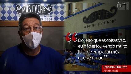 Dono de bar na Zona Sul do Rio diz se arrepender de ter mantido negócio na pandemia