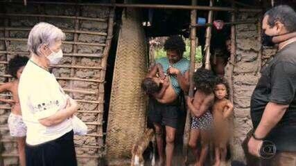 Caco Barcellos mostra trabalho de freira com famílias em situação de extrema pobreza no MA