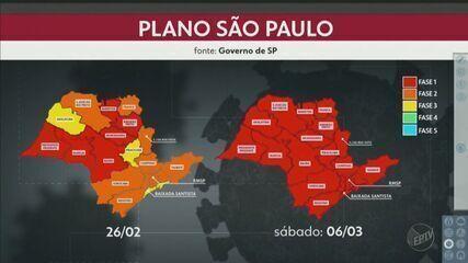 Governo de SP coloca todo estado na fase vermelha
