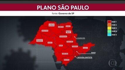 Fase vermelha entra em vigor no sábado em todo estado de São Paulo
