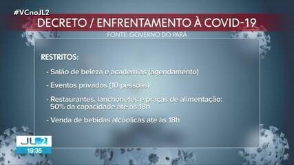 Toque de recolher começa às 22h desta quarta, 3, no Pará