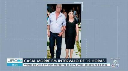 Casal de idosos morre em espaço de 12 horas por Covid-19 em Rondônia