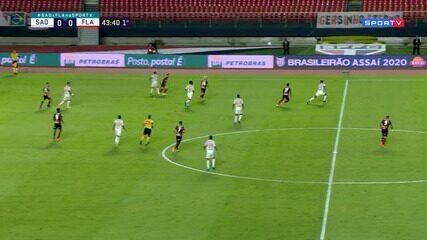 São Paulo 2 x 1 Flamengo