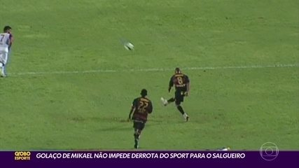 Sport marca golaço do meio de campo, mas Leão perde para o Salgueiro de virada