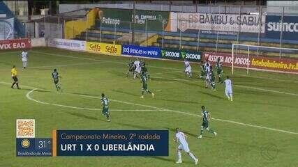 URT bate Uberlândia e vence a primeira partida no Campeonato Mineiro.