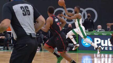 Melhores momentos: Toronto Raptors 125 x 132 Boston Celtics pela NBA