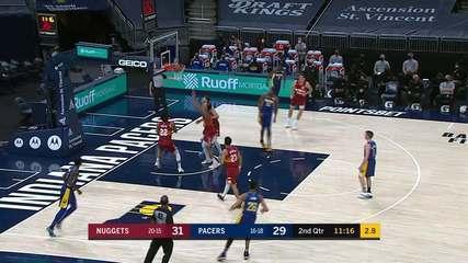 Melhores momentos: Indiana Pacers 103 x 113 Denver Nuggets pela NBA