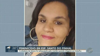 Cuidadora de idosos é morta a facadas pelo ex-marido em Espírito Santo do Pinhal