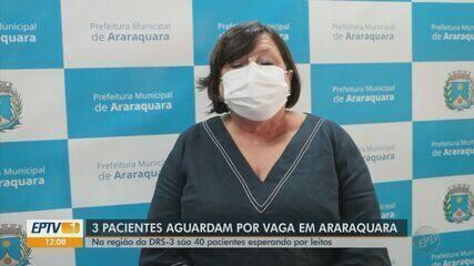 Com hospitais lotados em Araraquara, pacientes com Covid-19 aguardam leitos