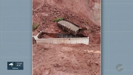 Dois trabalhadores morrem soterrados em canteiro de obras em Serra Negra