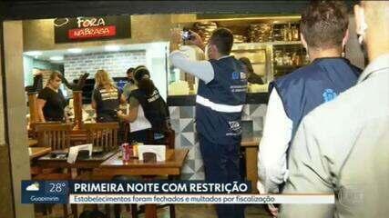 Prefeitura do Rio aplicou 230 infrações em estabelecimentos comerciais