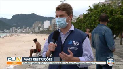 Secretário de Ordem Pública do Rio diz que fiscalização se concentra em lugares com aglomeração