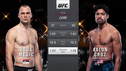 UFC 259 - Uros Medic x Aalon Cruz
