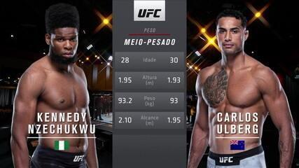 UFC 259 - Kennedy Nzechukwu x Carlos Ulberg