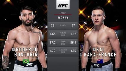 UFC 259 - Rogério Bontorin x Kai Kara-France