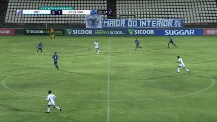 Melhores momentos: URT 0 x 2 Cruzeiro, pela 3ª rodada do Campeonato Mineiro