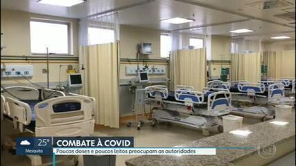 Vacinação contra Covid pode ser suspensa esta semana, por falta de doses