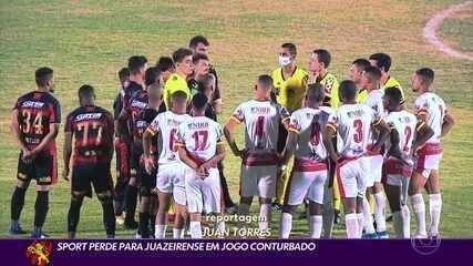 Sport perde para Juazeirense e está fora da Copa do Brasil