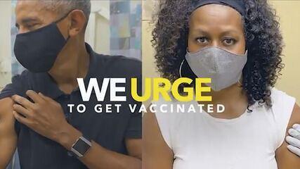 Obama, Bush, Clinton e Carter promovem vacinação contra a Covid nos EUA
