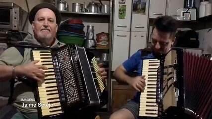 Ailton Missioneiro e o filho, Jaime Serejo, tinham na música o principal elo