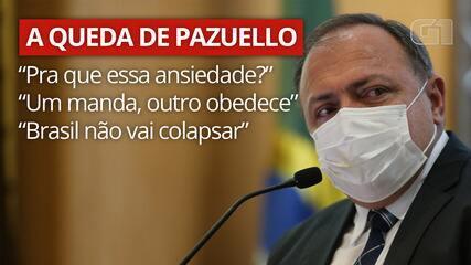 Veja as declarações de Eduardo Pazuello durante a pandemia