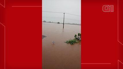 Municípios do Cariri registram fortes chuvas neste fim de semana