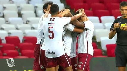 Melhores momentos: Flamengo 0 x 1 Fluminense, pela 3ª rodada do Campeonato Carioca