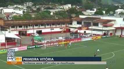 Tombense bate URT em casa e conquista primeira vitória no Mineiro