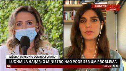 """Ludhmila Hajjar comenta pontos cruciais da condução na pandemia """"resgatar o tempo perdido na aquisição das vacinas"""""""