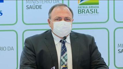 'A gente está tentando colocar as ideias para a população', afirma Eduardo Pazuello