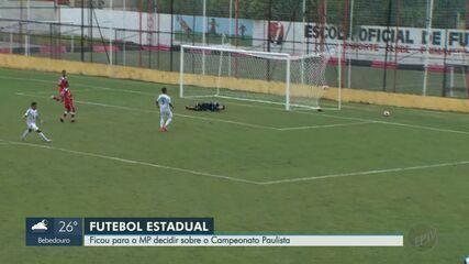 Federação Paulista de Futebol tenta manter jogos do Campeonato Paulista
